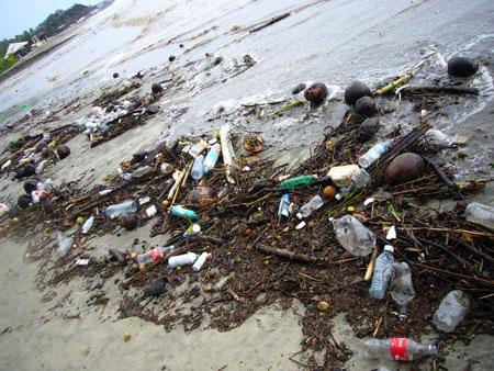 Resíduos plásticos correspondem a 70% da poluição marinha (imagem: Flickr)