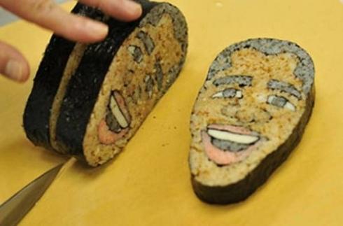Barack Obama em versão sushi