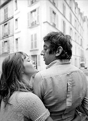 O casal Jane Birkin e Serge Gainsbourg