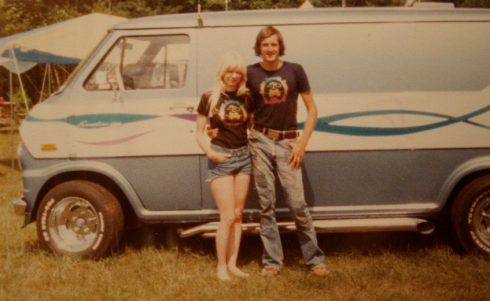 Paula e Mark, casal cool que gerou Kyle